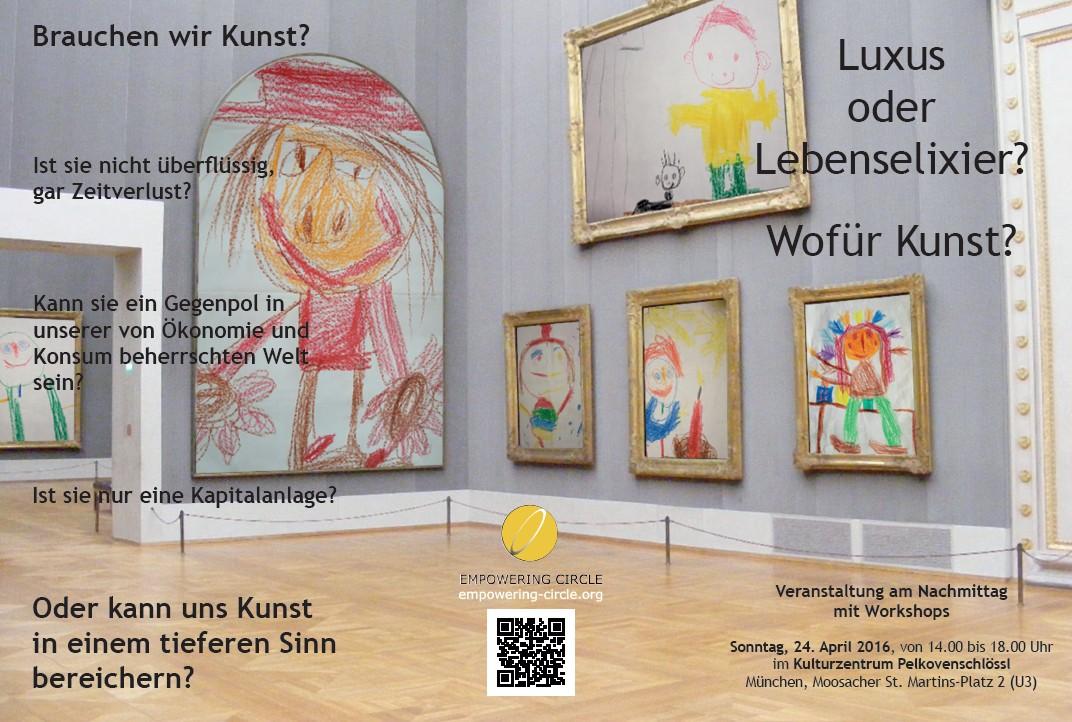 Kunst-Veranstaltung 2016 Flyer-Vorderseite
